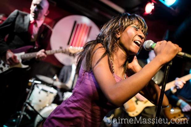 The Excitements en el Tempo Club (Madrid) por Jaime Massieu