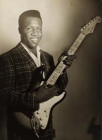 """Blues Boy"" Hubbard in the 1950s"